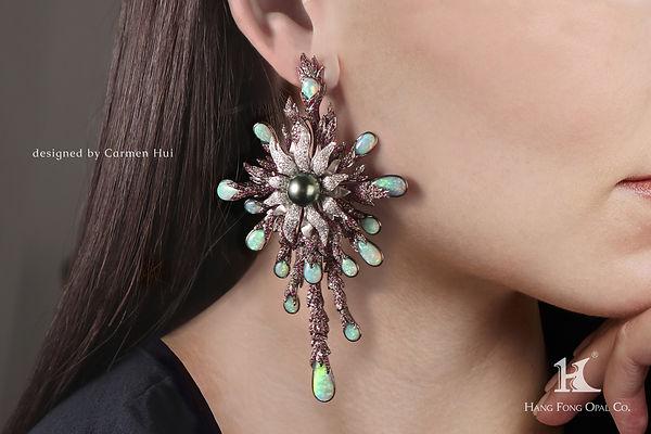 JMA design competition, earrings, Carmen Hui, Jewellery design