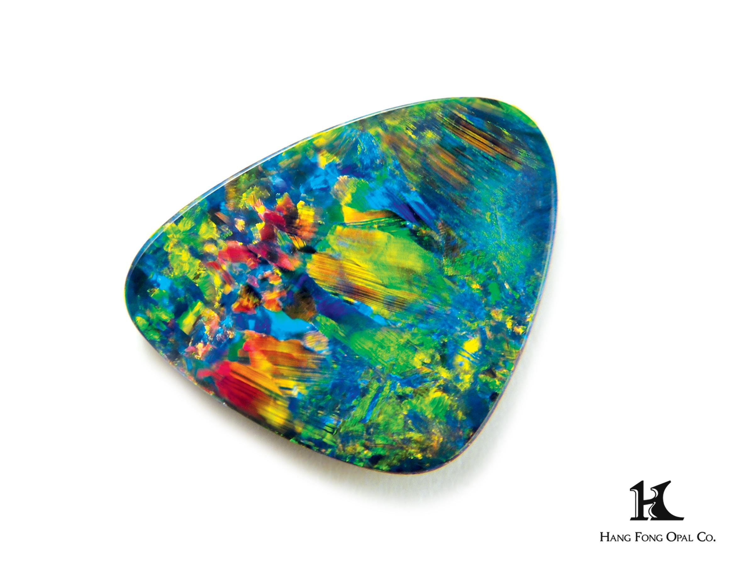 Opal Doublet Free form, Australian