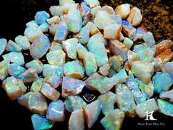 Australian Opal, Opal Rough