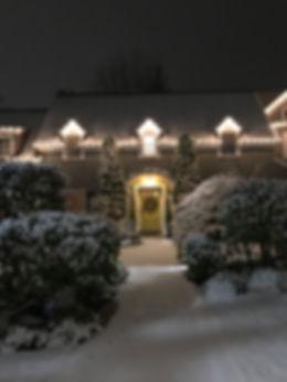 Snowy Nights in Seattle