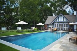 Pool, pool house and spa