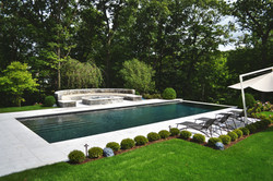 Pool with separate spa