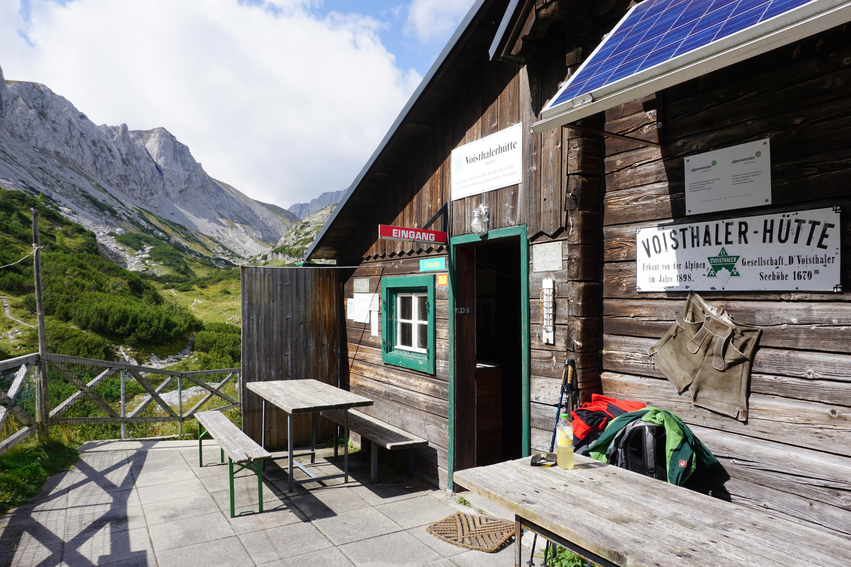 Voisthalerhütte   Hochschwab, Steiermark   Schutzhütte mit