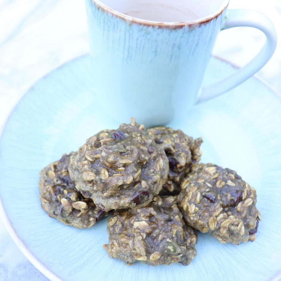 Mean Green Breakfast Cookies