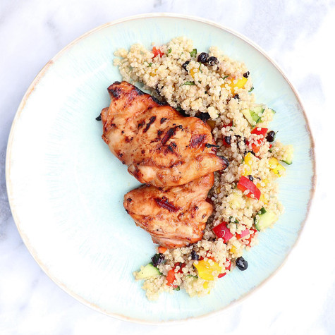 BBQ Chicken & Quinoa Salad
