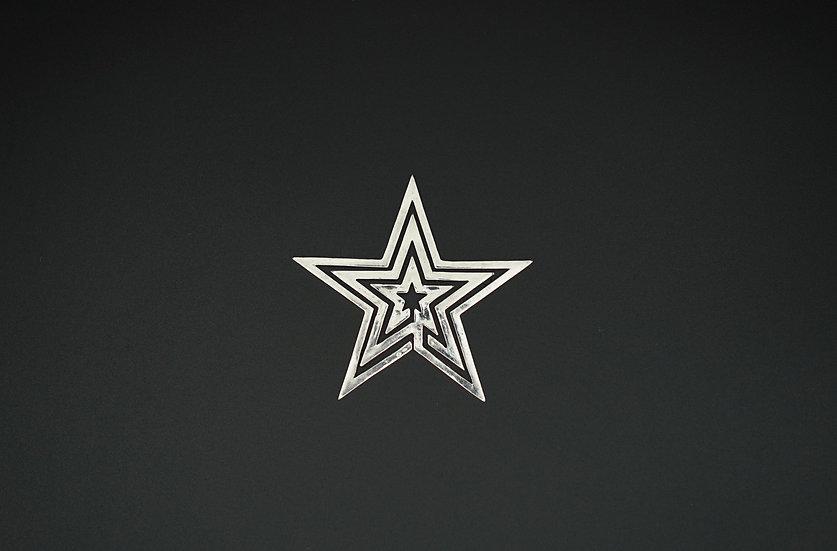Morning Star - Mirror silver