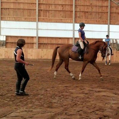 We develop correct, confident riders