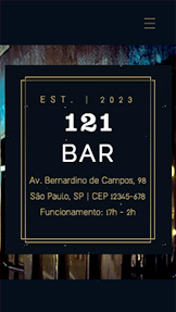 Restaurantes e Comida website templates – Bar urbano