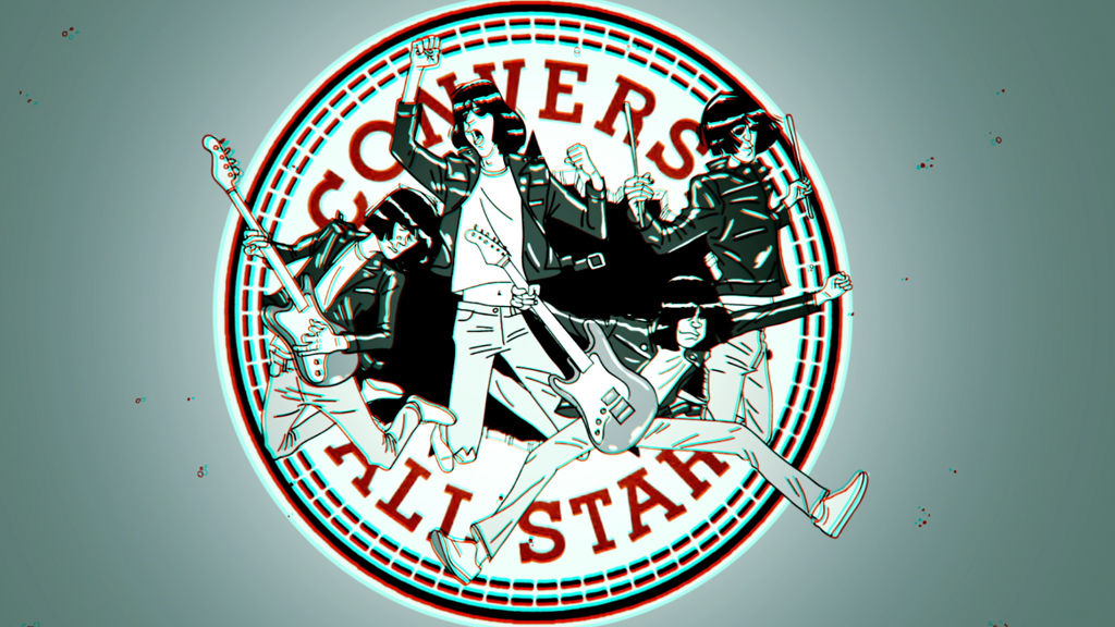 Converse Hey Ho Let's Go!