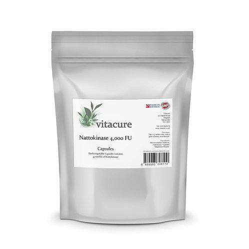 Nattokinase Enzyme 4,000FU Vegetable Capsules