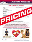 CPR-AED-First Aid Pricing