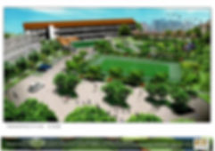 Proposed Artist Impression Of Kampong Si