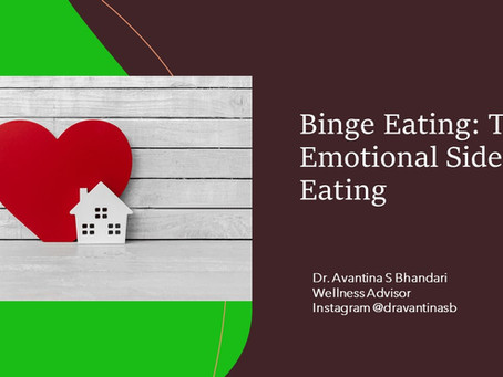 THE EMOTIONAL SIDE OF EATING: BINGE EATING