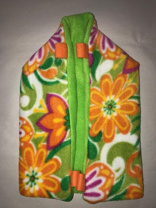 OE Dustpan Pouch (Orange Flower)