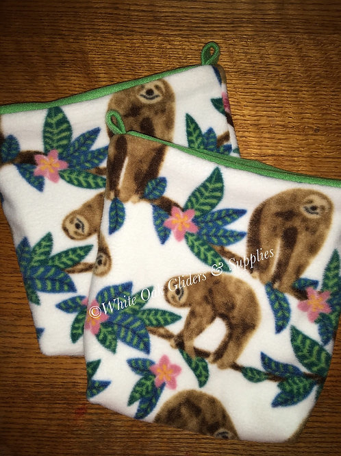 2 Cage Pouches (Sloth)