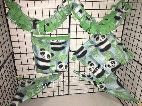 Fleece Cage Set (panda)