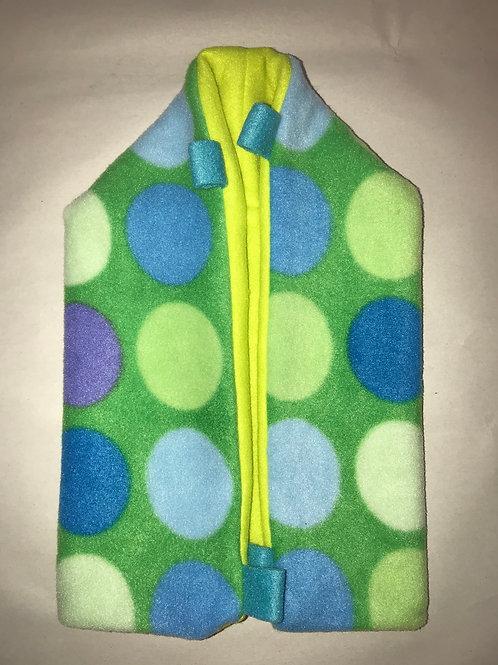 OE Dustpan Pouch (Blue/Green shapes)