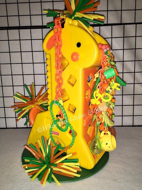 Peek a Boo Giraffe Floor Toy