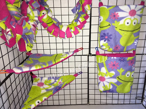 5 piece Cage Set (Frogs)
