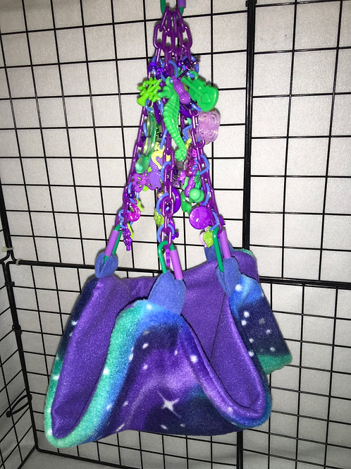 Fancy Parachute Pouch (Northern Lights)