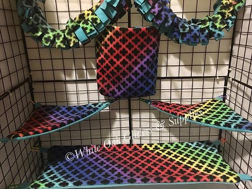 Fleece Cage Set (X pattern)