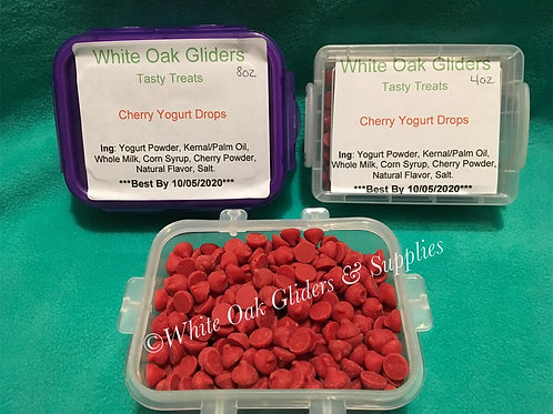 Tasty Treats-Cherry Yogurt Drops