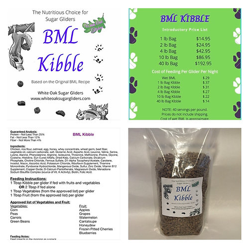 BML Kibble (smaller bags)