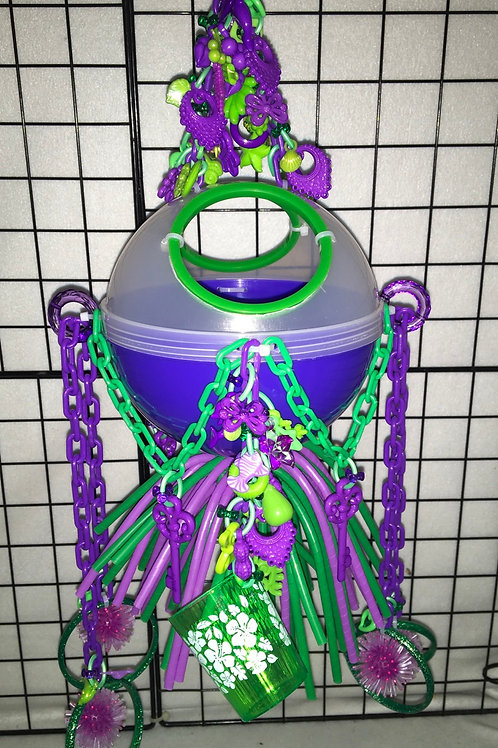 Ball Hide-Out (Purple/Green)