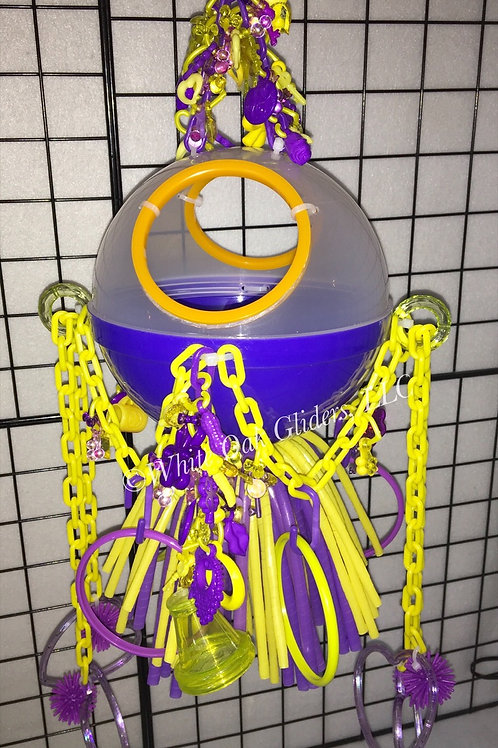 Ball Hide-Out (Purple/Yellow)
