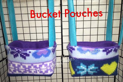2 XL Bucket Pouches