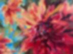 dahlia with blue