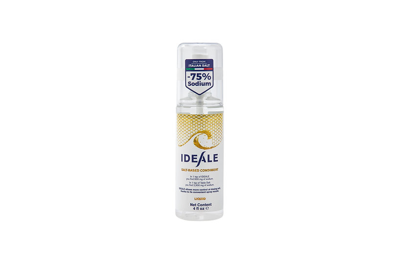Ideale Low Sodium Salt 120ml bottle