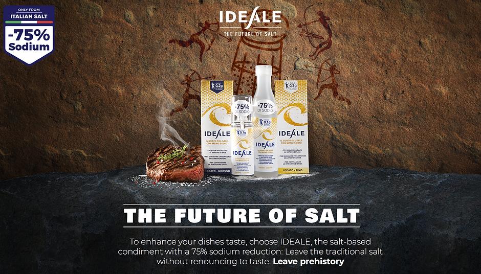 Ideale Low sodium salt collection home.p