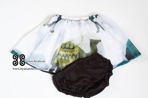 Camel Skirt Set