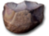 Palaeolithic flint chopping tool