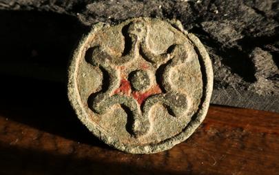 Roman Disc Brooch