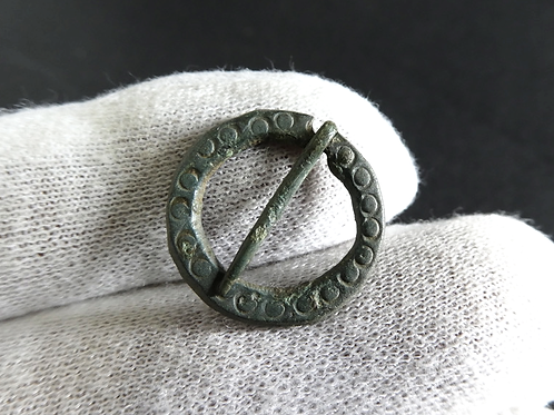 DELICATE MEDIEVAL RING BROOCH