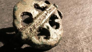 2nd Century Roman Plate Brooch