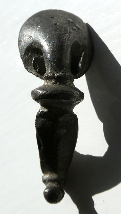 ROMAN SILVER TRUMPET BROOCH