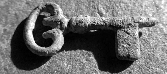 Medieval Casket Key