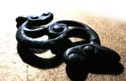 Celtic Dragonesque Brooch