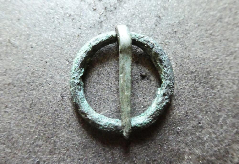 Medieval Ring Brooch