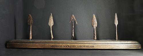 MEDIEVAL SOCKETED ARROWHEAD COLLECTION