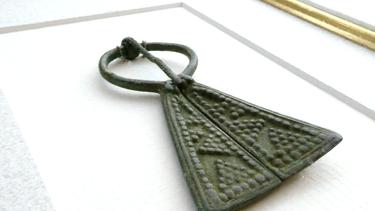 Viking Omega Brooch
