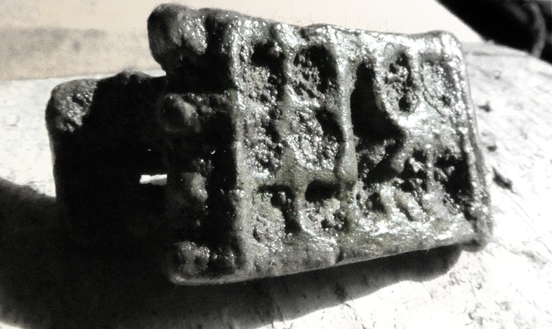 Roman Plate Brooch