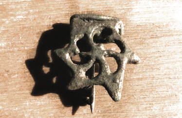 3rd Century Roman Plate Brooch