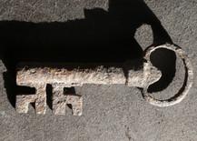 Post-Medieval Iron Key
