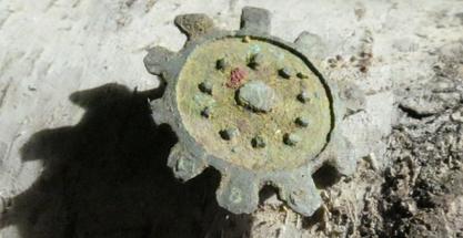 3rd Century Disc Brooch