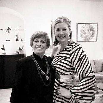 Lolita San Miguel and Pilates Master Caroline Londergan