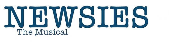 Newsies White Logo.png